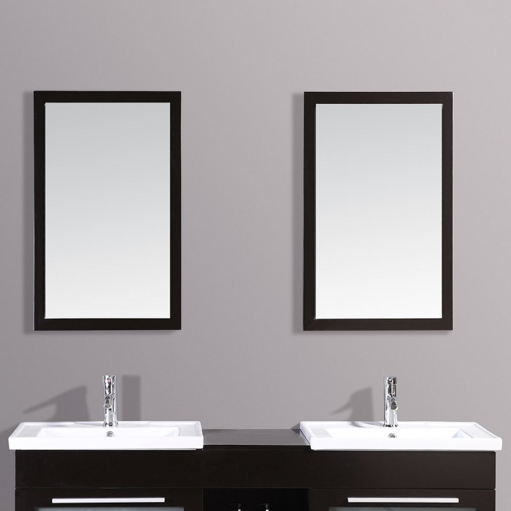 24 X 31 In Mirror With Espresso Frame Dk T9118 M