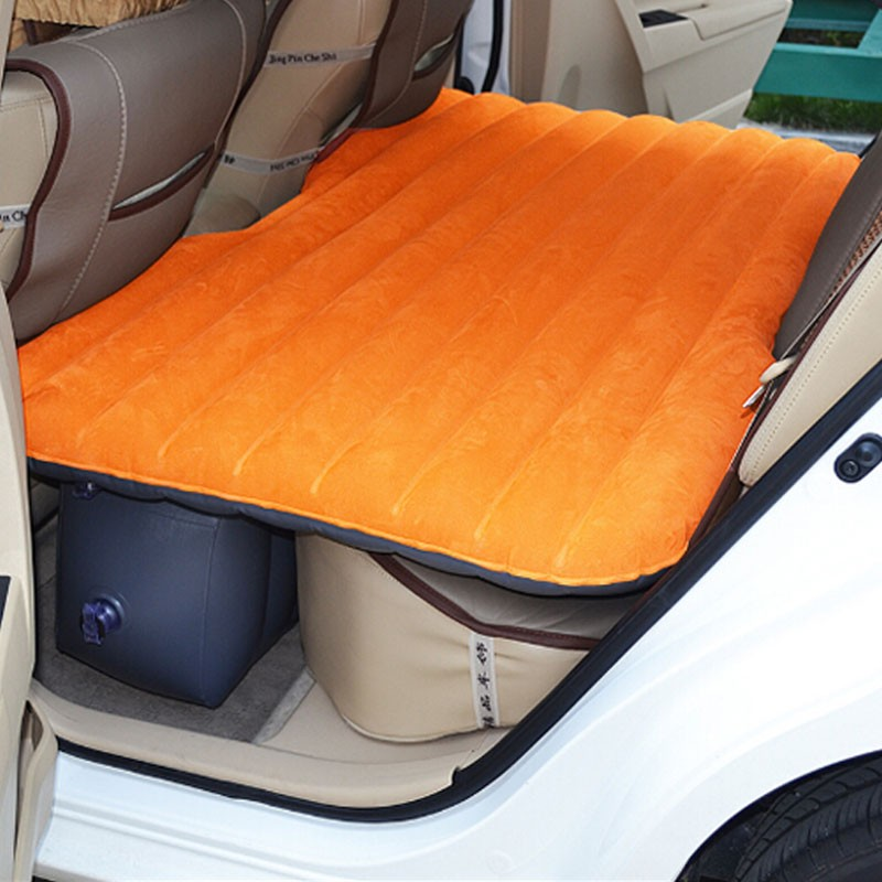 Orange Car Travel Inflatable Mattress (DK-IB0FO)