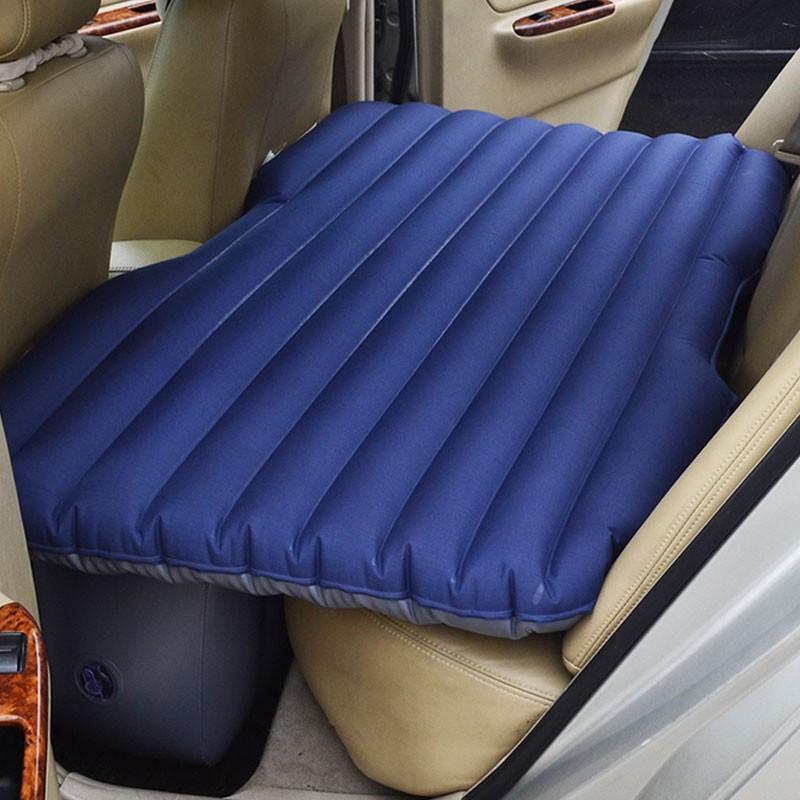 Grey Oxford Fabric Inflatable Car Mattress (DK-IB0OG)