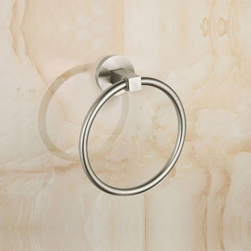Brushed Stainless Steel Towel Ring (30360)