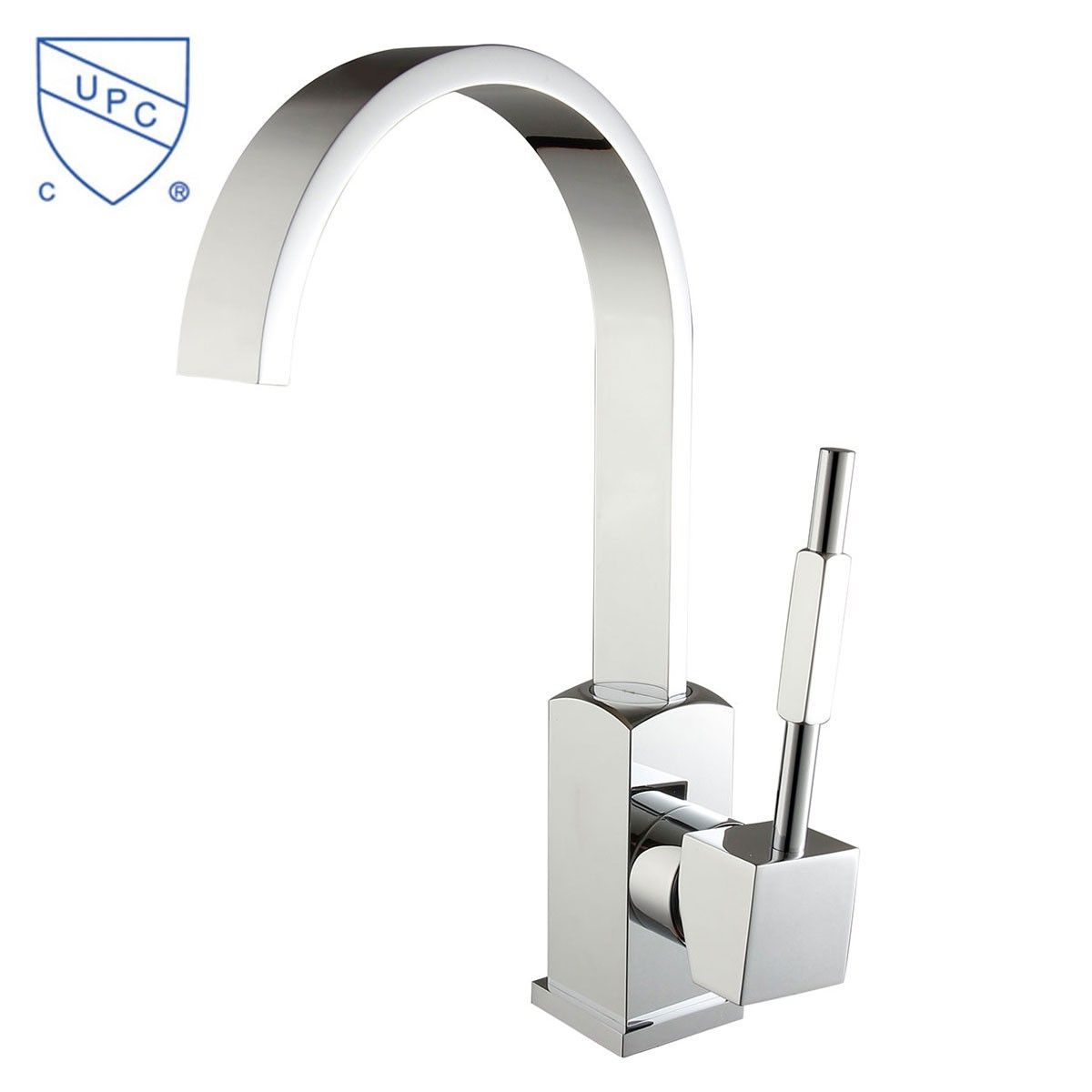 Basin&Sink Faucet - Brass with Chrome Finish (6211)