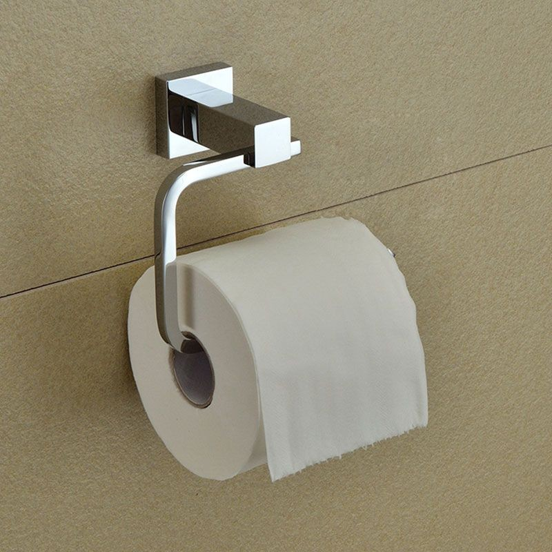 Chrome Brass Toilet Paper Holder (80851)