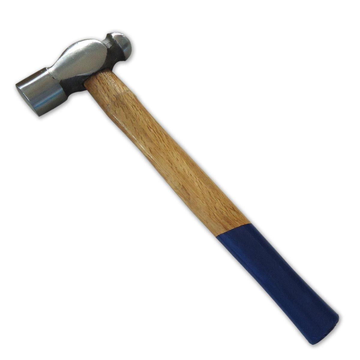 Wooden Handle Ball Peen Hammer - Steel Head (08021020)