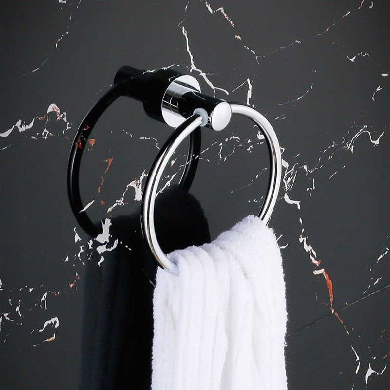 Chrome Brass Towel Ring (80760)