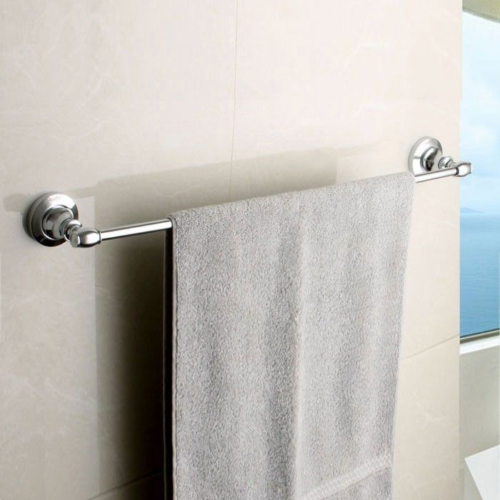 Chrome Brass Towel Bar (80524)