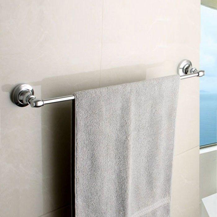 Chrome Brass Towel Bar (80524)