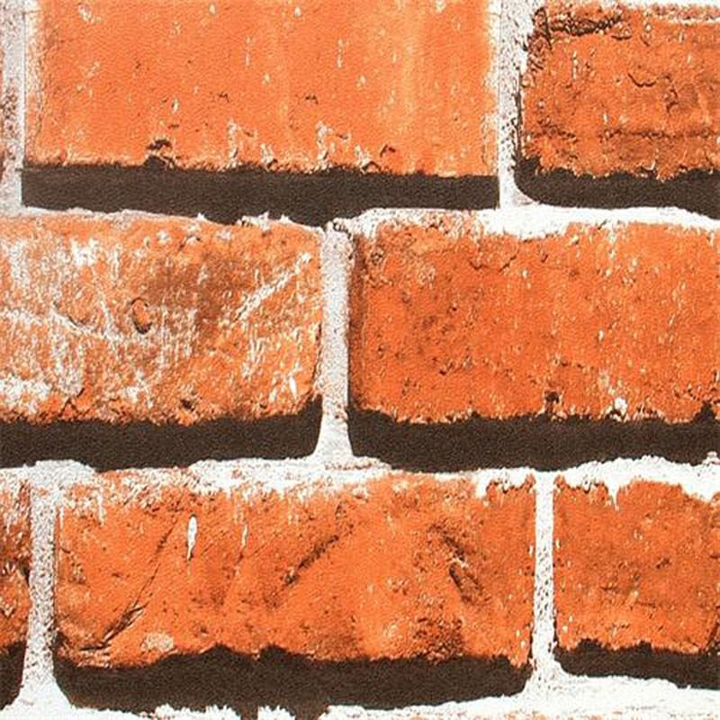 3D Rustic Brick Room Wallpaper (DK-SE453003)