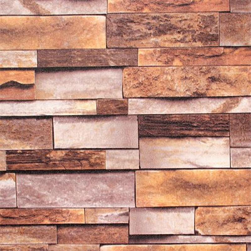 3D Rustic Stonewall Wallpaper  (DK-SE454001)