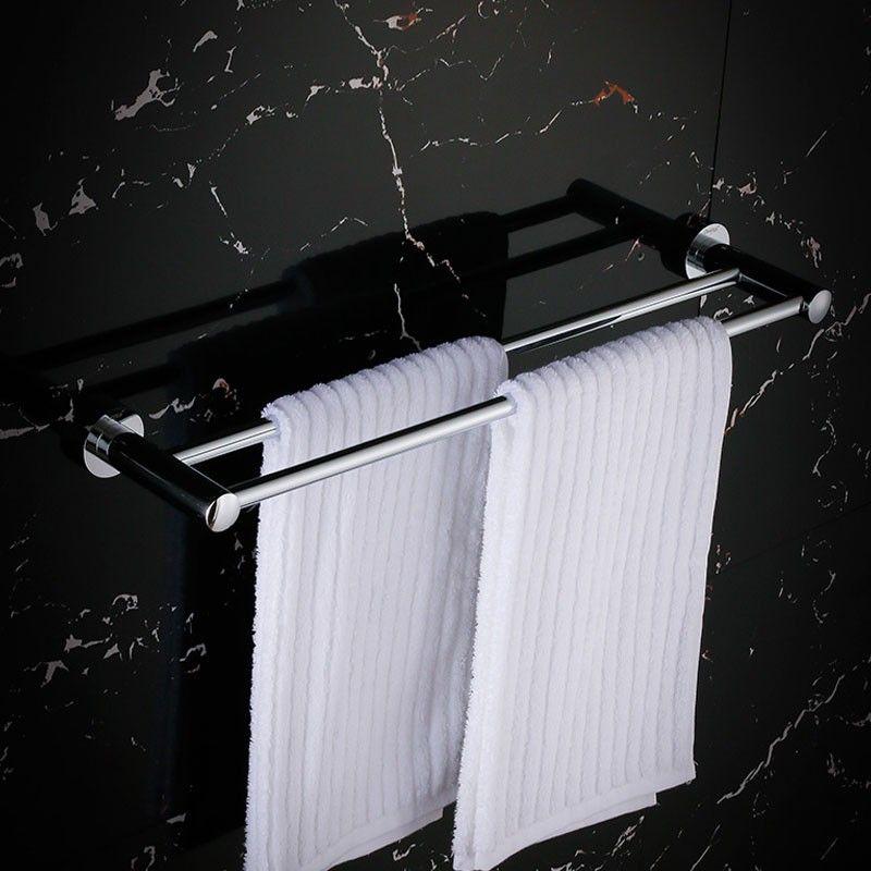 Double Towel Bar 24 Inch - Chrome Brass (80748)
