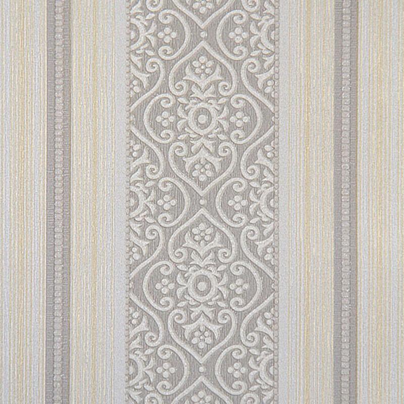 Wallpaper / Simple Stripe Embossing Design Home Wall Decoraport (DK-BL07052)