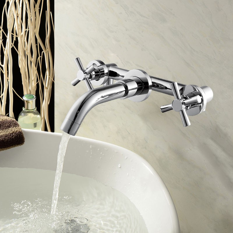Basin&Sink Faucet - Brass with Chrome Finish (8830B)