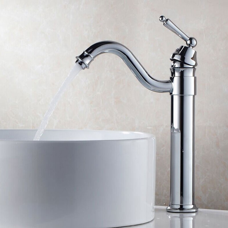 Basin&Sink Faucet - Brass with Chrome Finish (81H26-CHR)