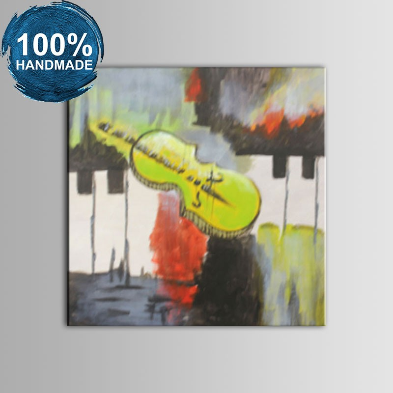 100% Hand Painted Abstract Still-Life Oil Painting (DK-JX-YH029)