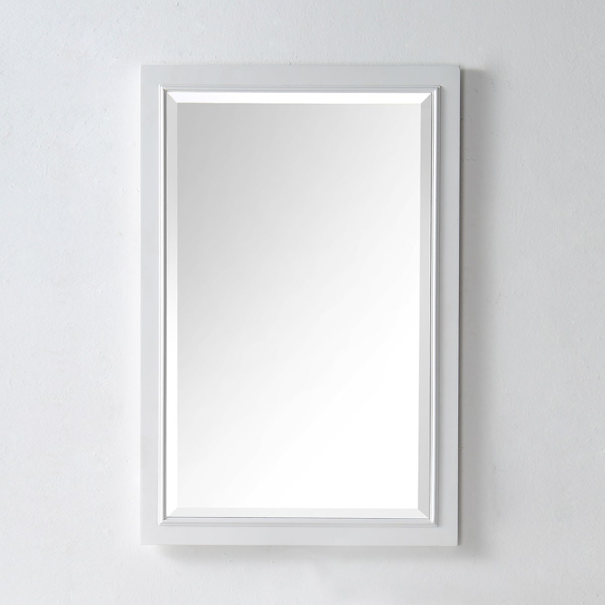 24 x 36 In Mirror with White Frame (DK-6000-WM) | Decoraport USA