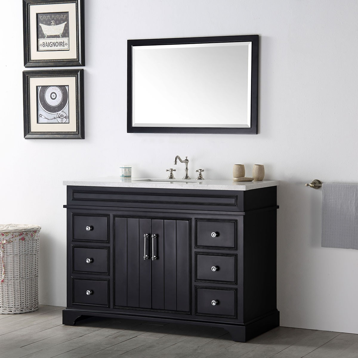 48 in bathroom vanity set without mirror dk 6748 e decoraport usa 48 in bathroom vanity set without mirror dk 6748 e geotapseo Image collections