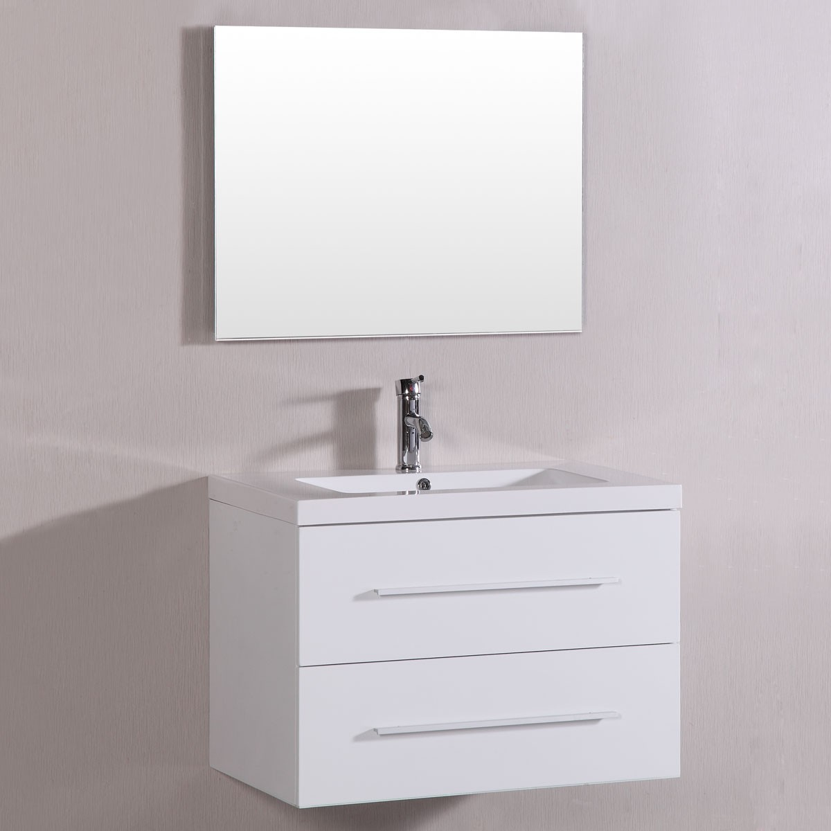 40 In Mdf Bathroom Vanity Set With Single Sink And Mirror Dk Tm8120s