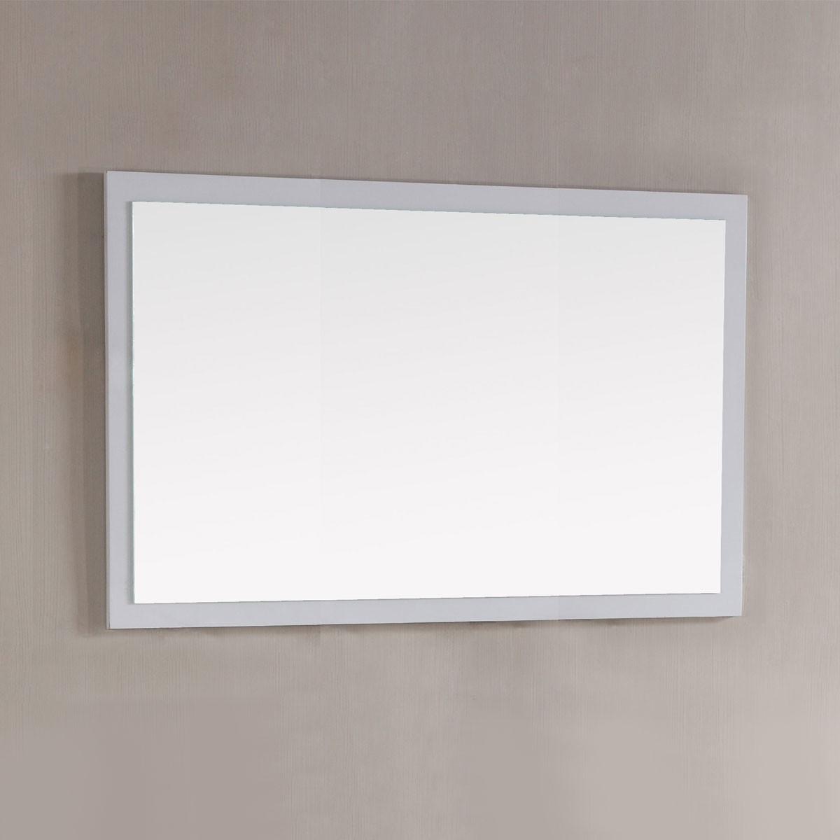 48 x 31 In. Mirror with White Frame (DK-T9312-48WM)