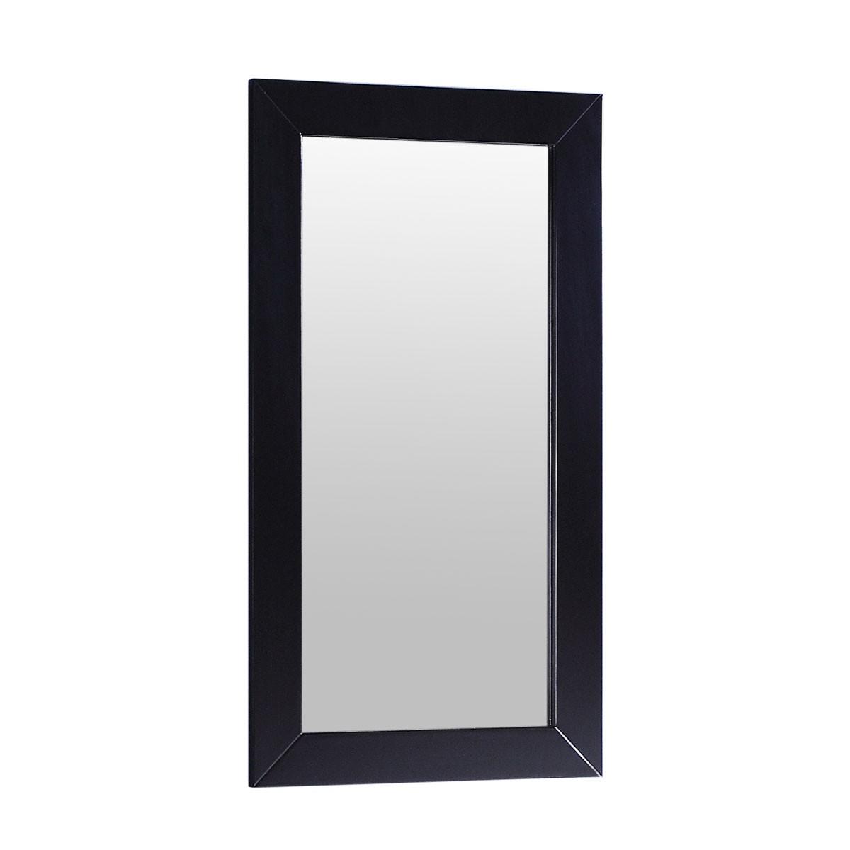 18 x 28 In. Mirror with Espresso Frame (DK-T9188-M)