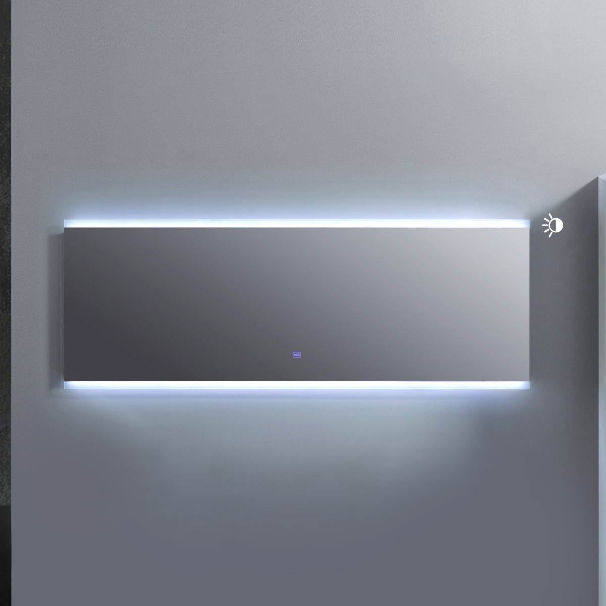 60 x 22 In. LED Mirror with Touch Button (AG1500D-M)