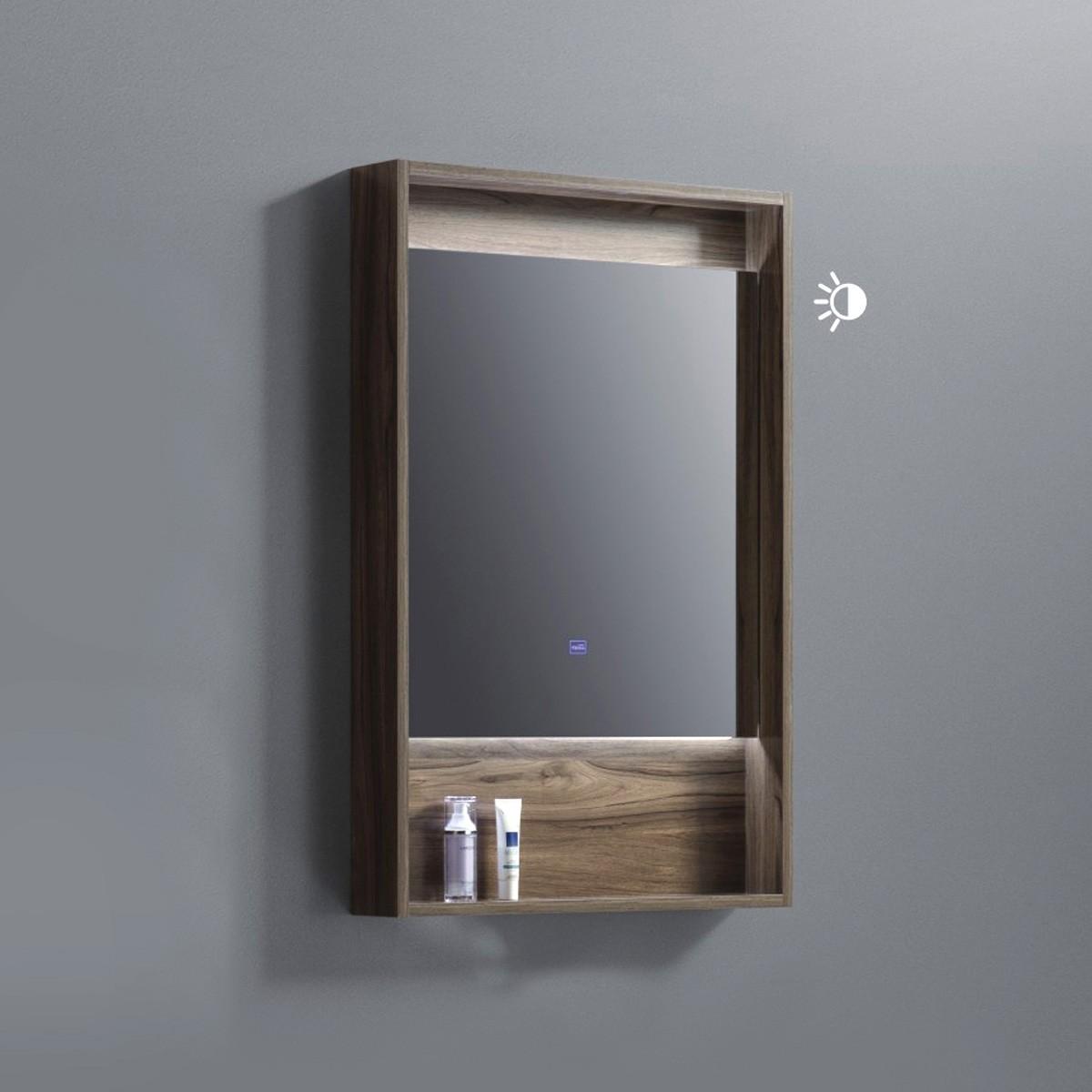 24 x 36 In. LED Bathroom Vanity Mirror with Shelf (AG8001W-M)