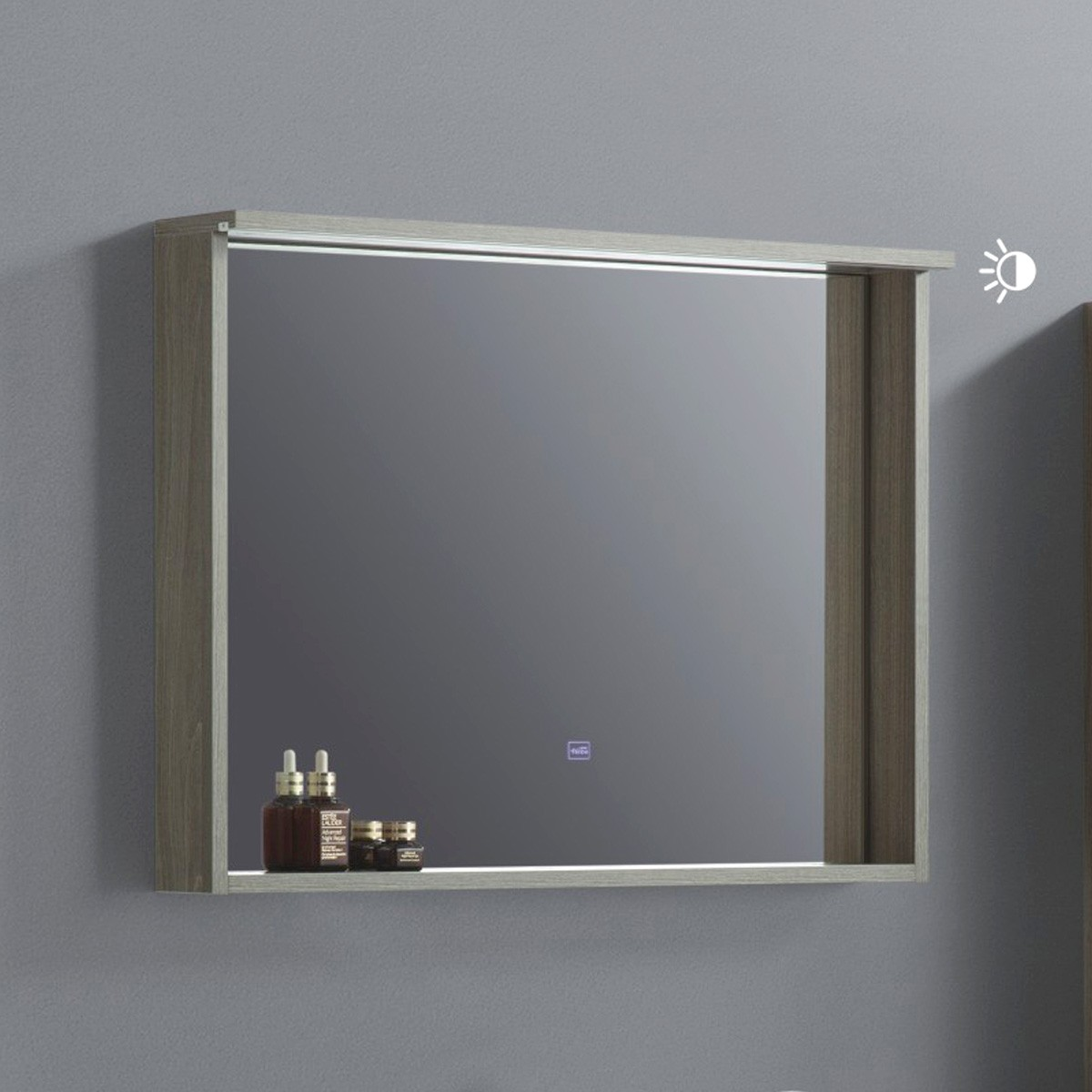 32 x 24 In. LED Bathroom Vanity Mirror with Shelf (VSW8002-M)