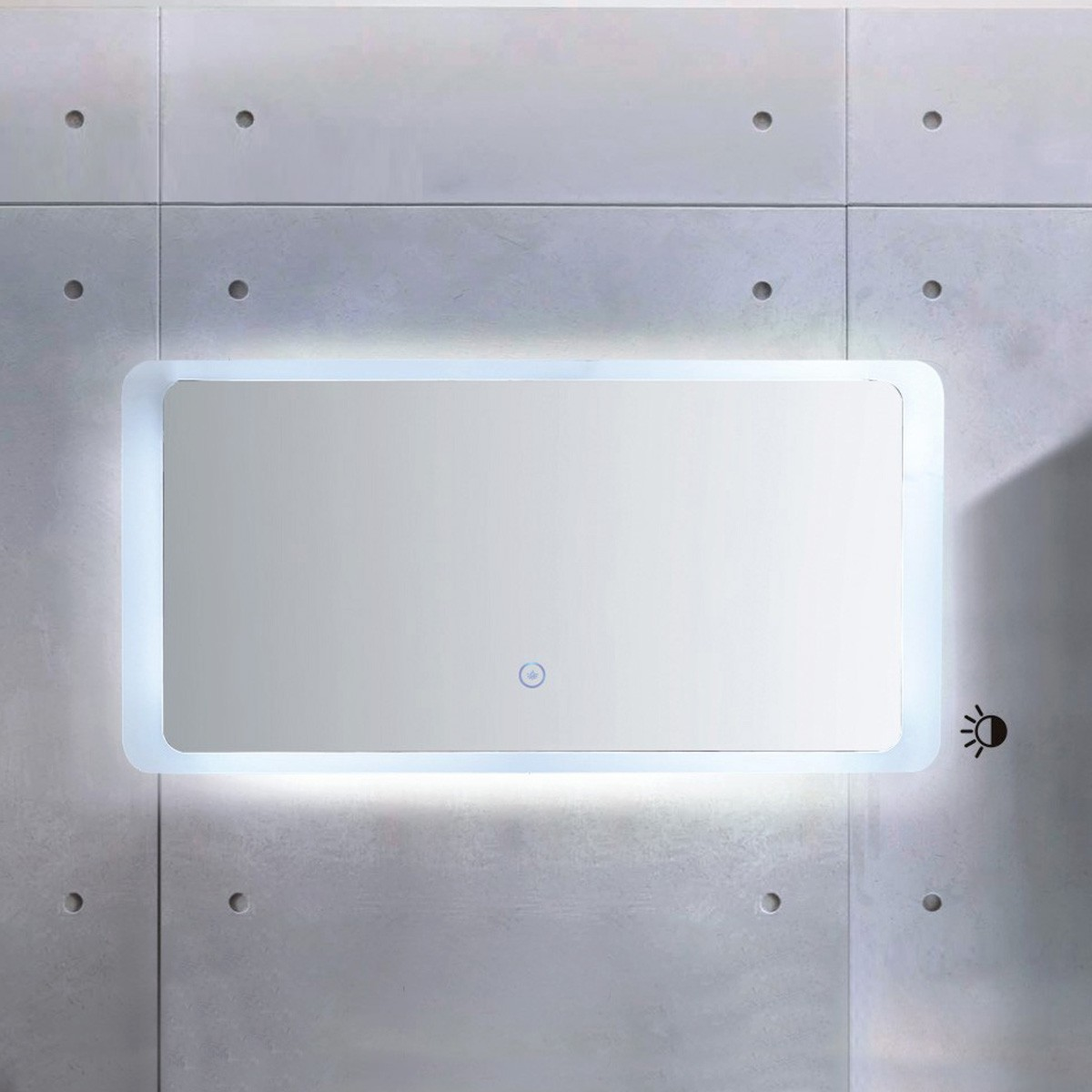 48 x 24 In. LED Mirror with Touch Button (ML1380-M)