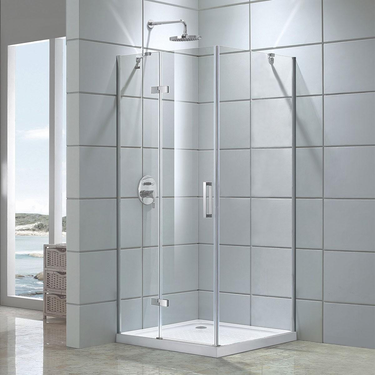 48 In Pivot Shower Door And 36 In Side Panel Dk D306 90