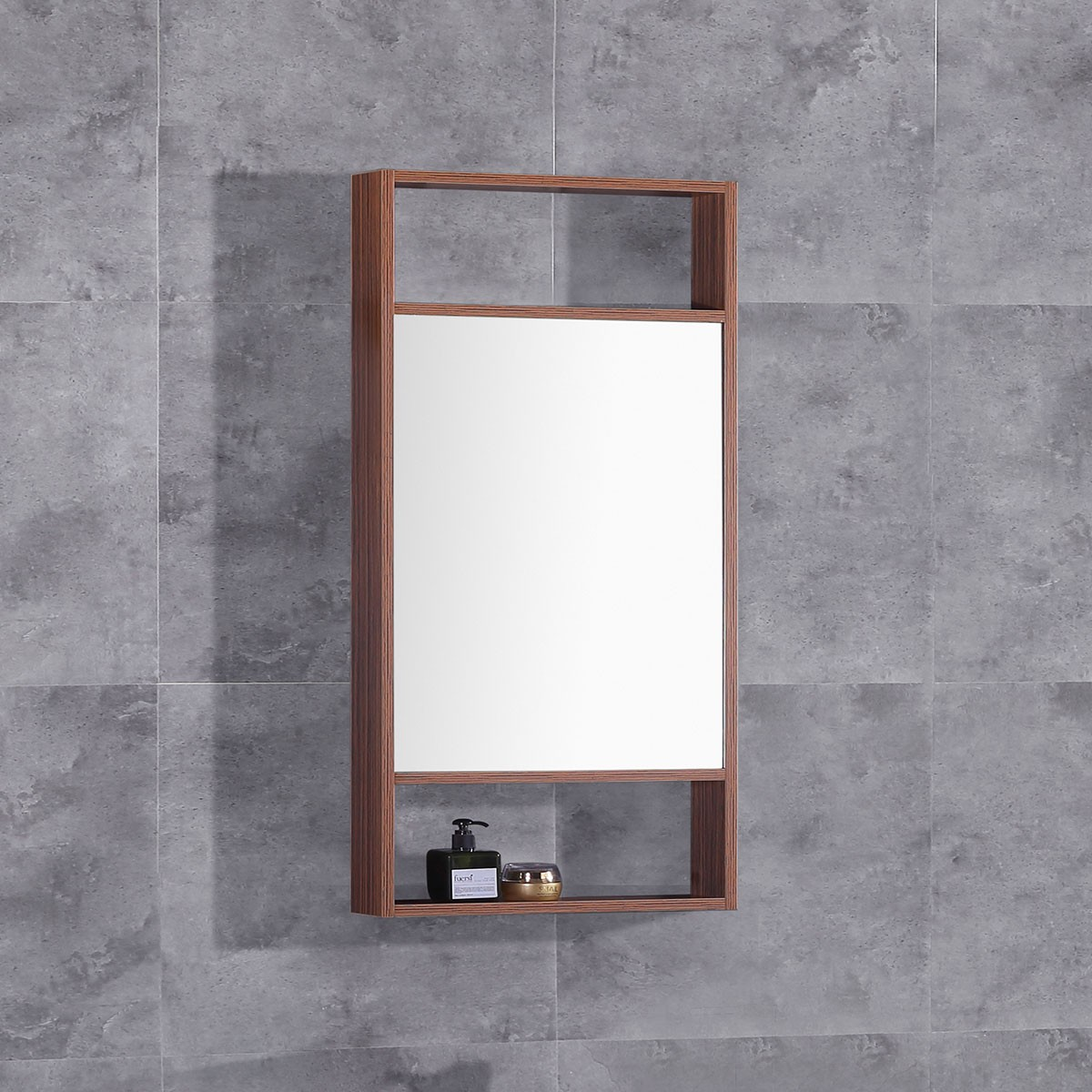 20 x 28 In. Mirror with  Frame (DK-TH21302B-M)