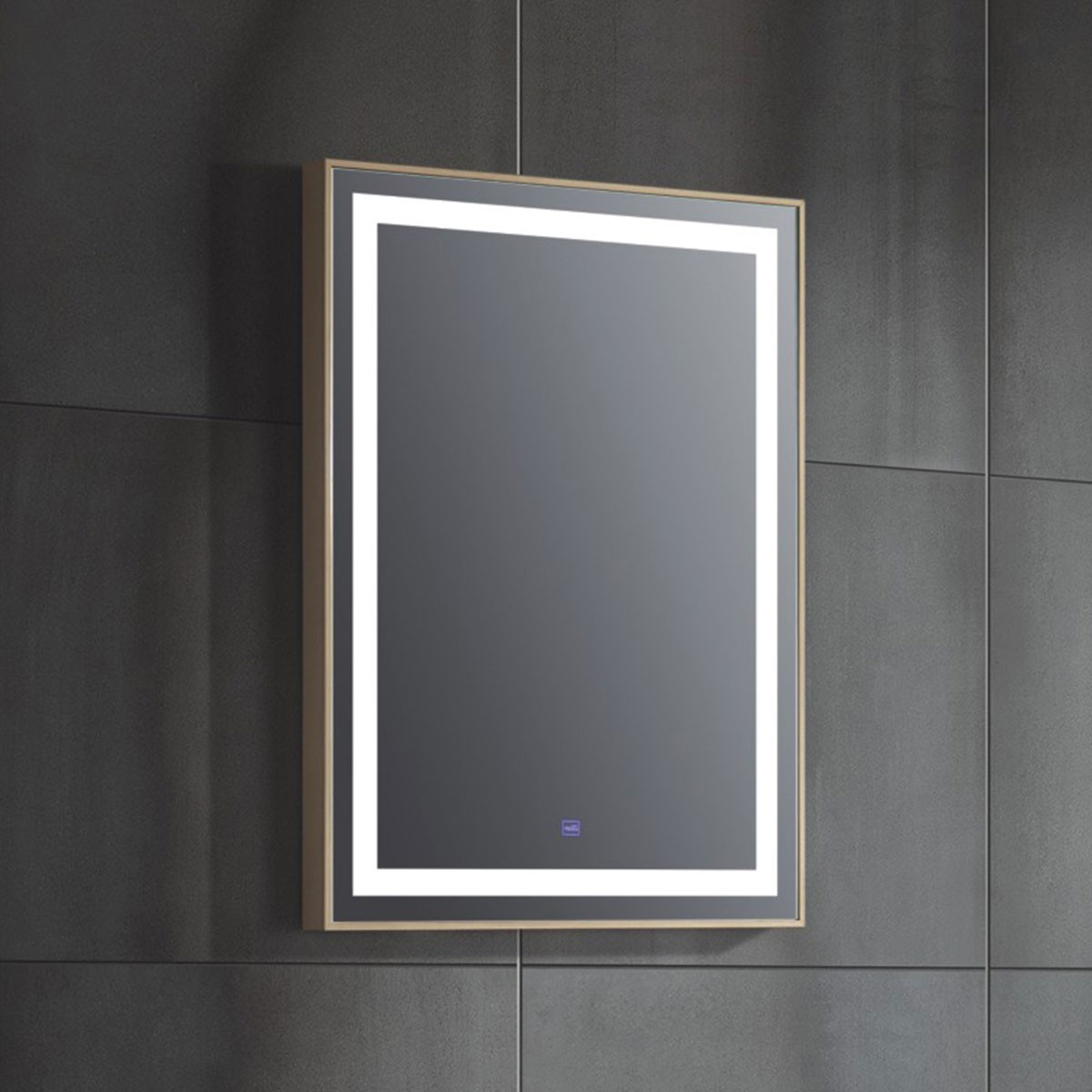 24 x 31 In Vertical LED Bathroom Mirror with Touch Button (FB-G8320-M)