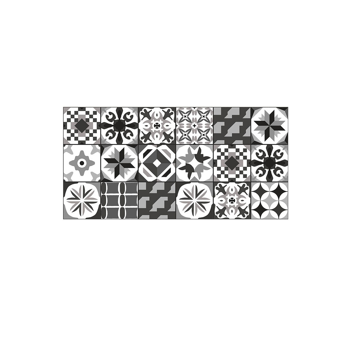 DECORAPORT NWS Wall Panel, Casablanca Black, 4'' x6'' (NCC-01) (Sample)