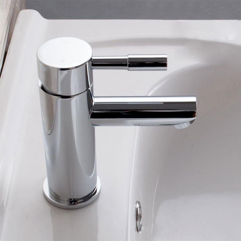 Decoraport Modern Style Basin&Sink Faucet - Brass with Chrome Finish (5520ACH)
