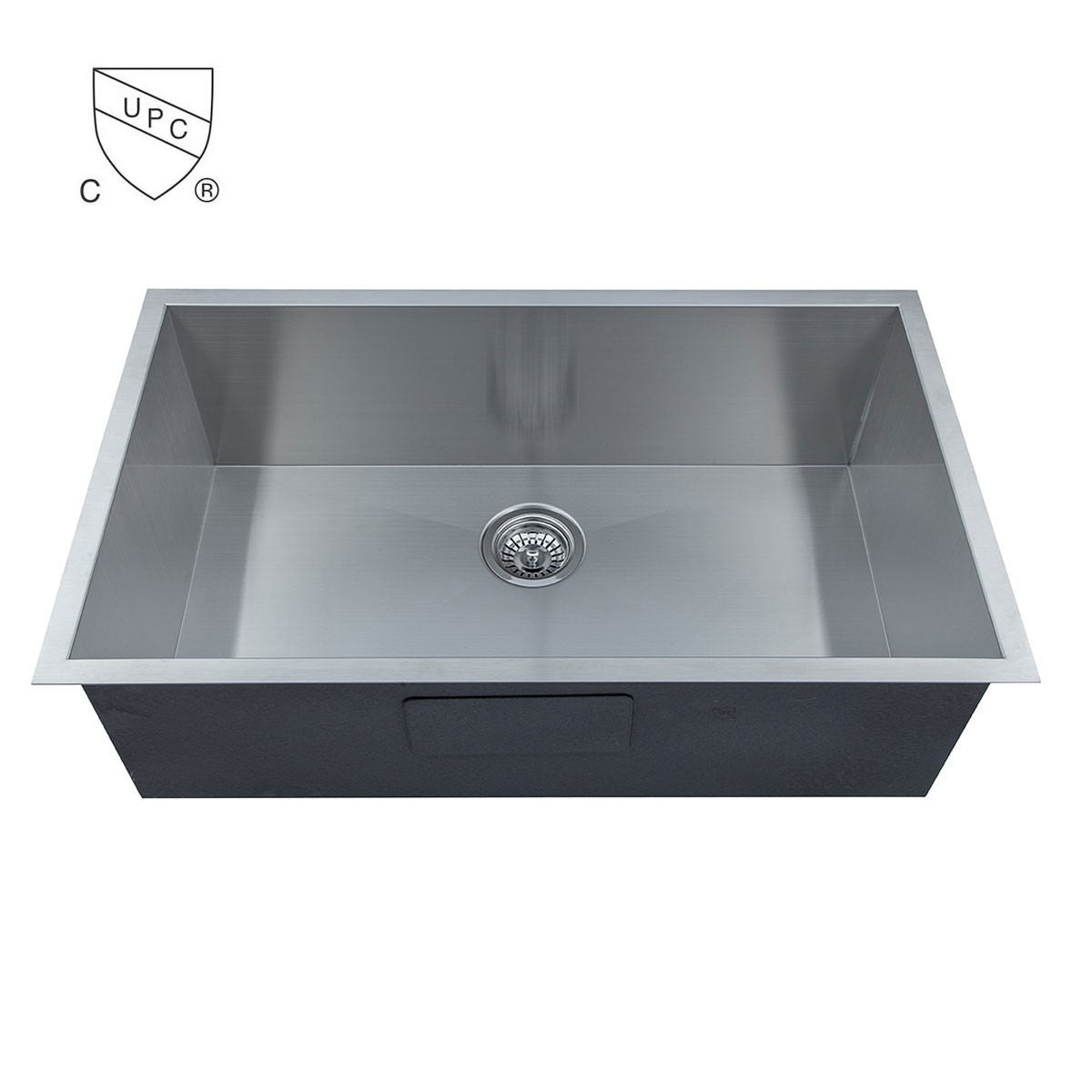 Stainless Steel Single Bowl Handmade Kitchen Sink (AS3219-R0)