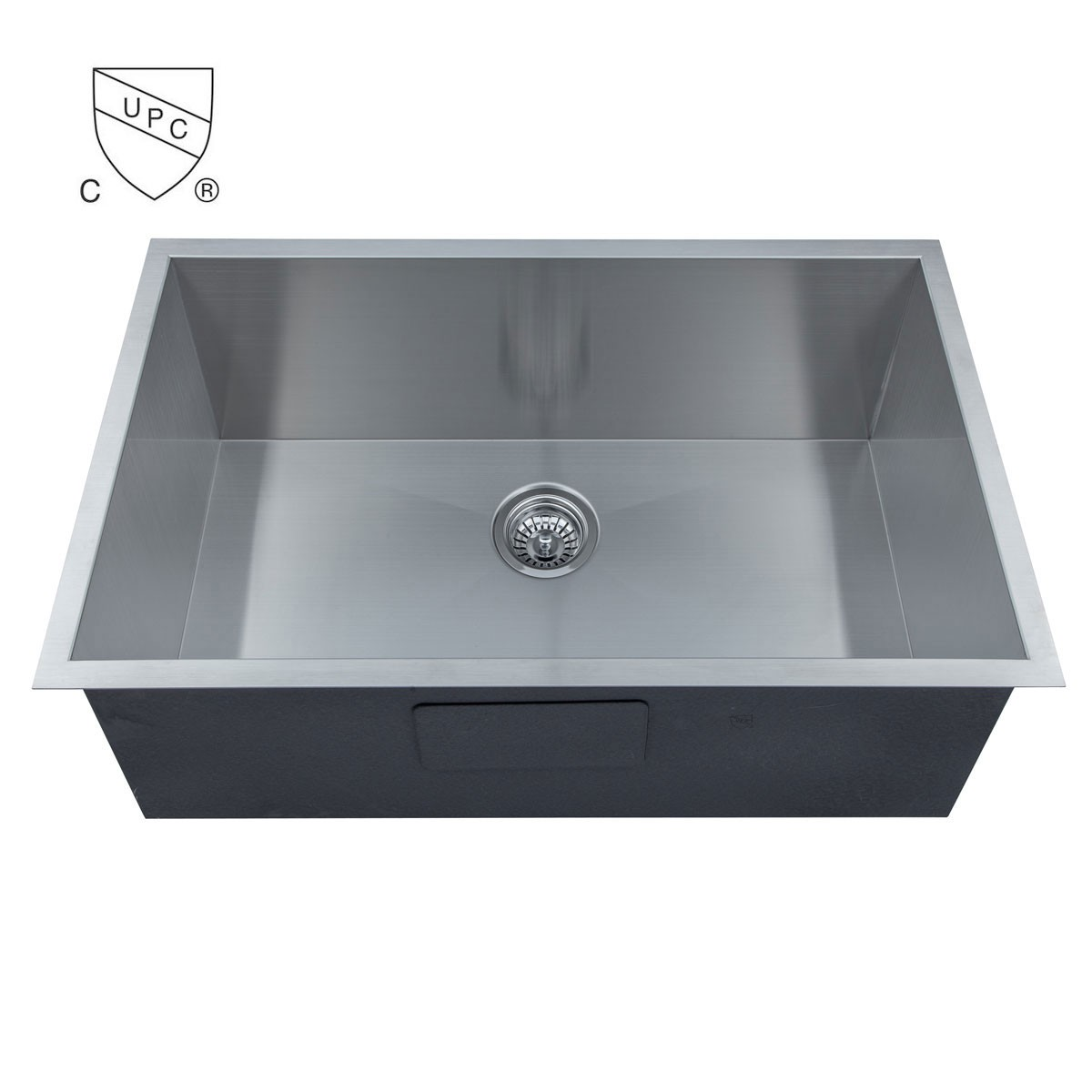 Stainless Steel Single Bowl Handmade Kitchen Sink (AS3018-R0)