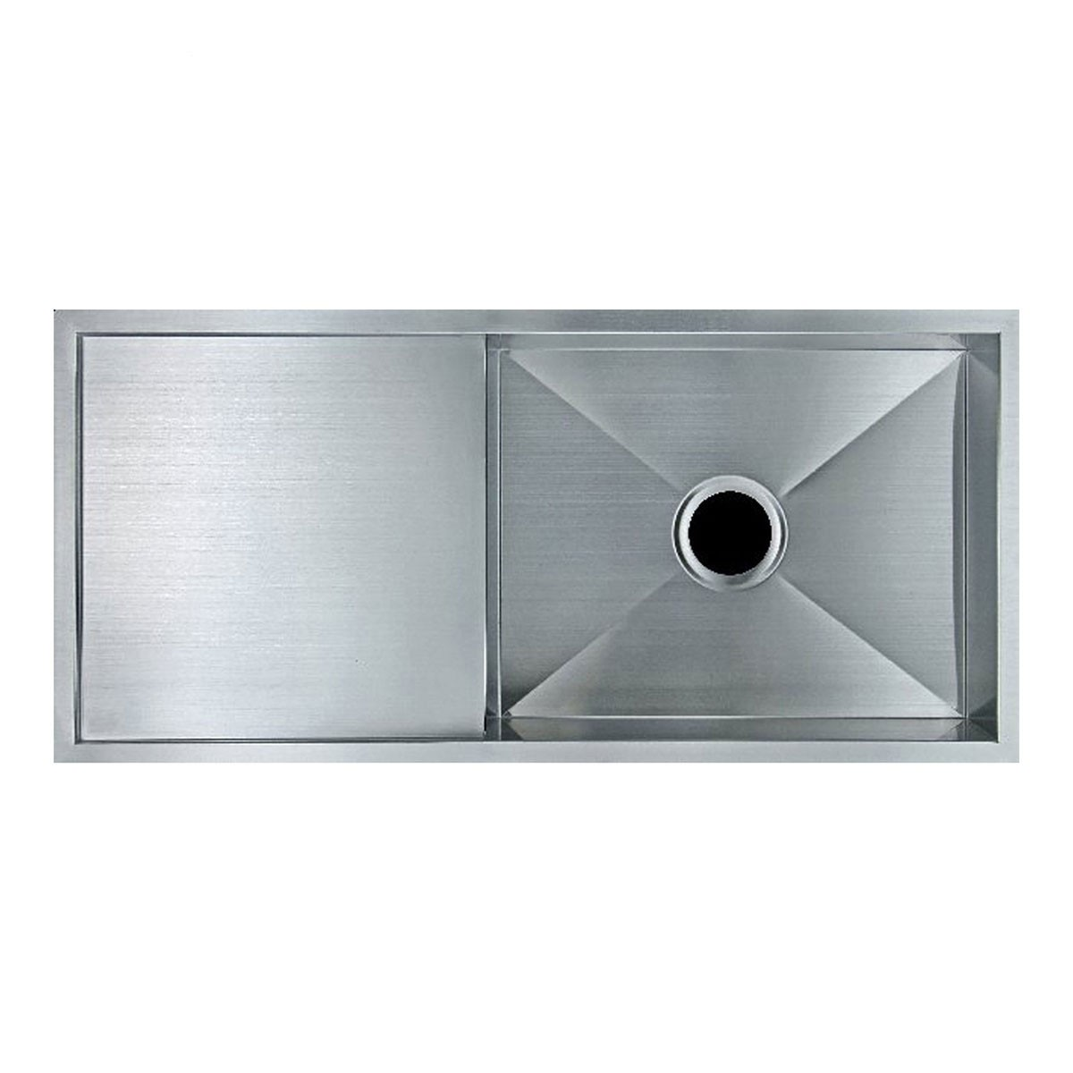 29 x 18 In. Stainless Steel Single Bowl Kitchen Sink (ABR2918-R0 ...