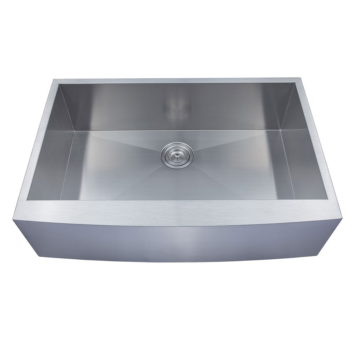 33 x 22 In. Stainless Steel Single Bowl Handmade Kitchen Sink (AF3322-R0)
