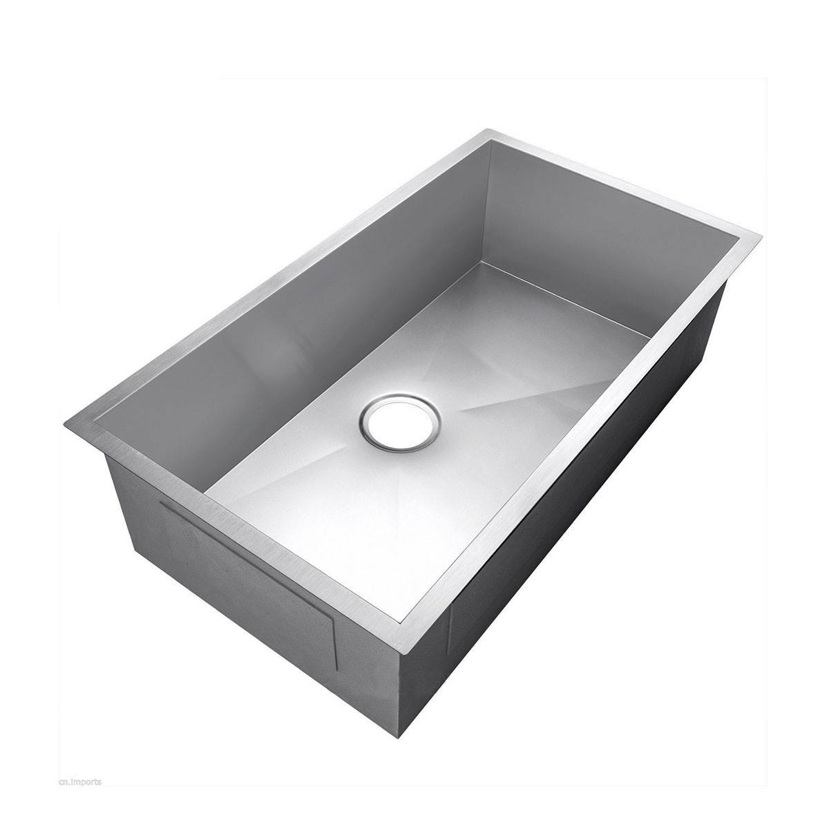 33.5 X 17.5 In. Stainless Steel Single Bowl Kitchen Sink (AS3418 R0)