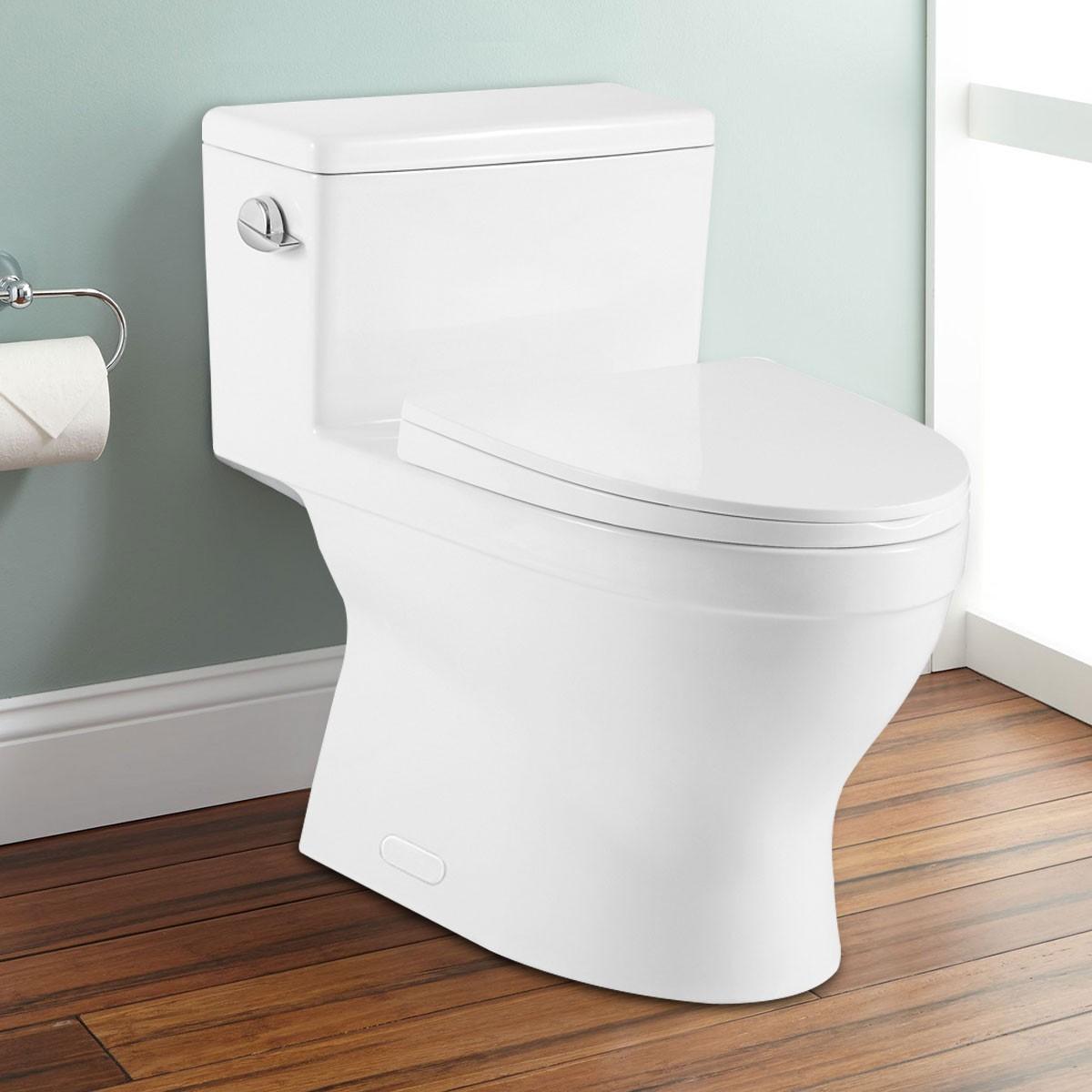 CUPC Single Flush High Efficiency Water Saving One-piece Toilet (DK-ZBQ-12234)