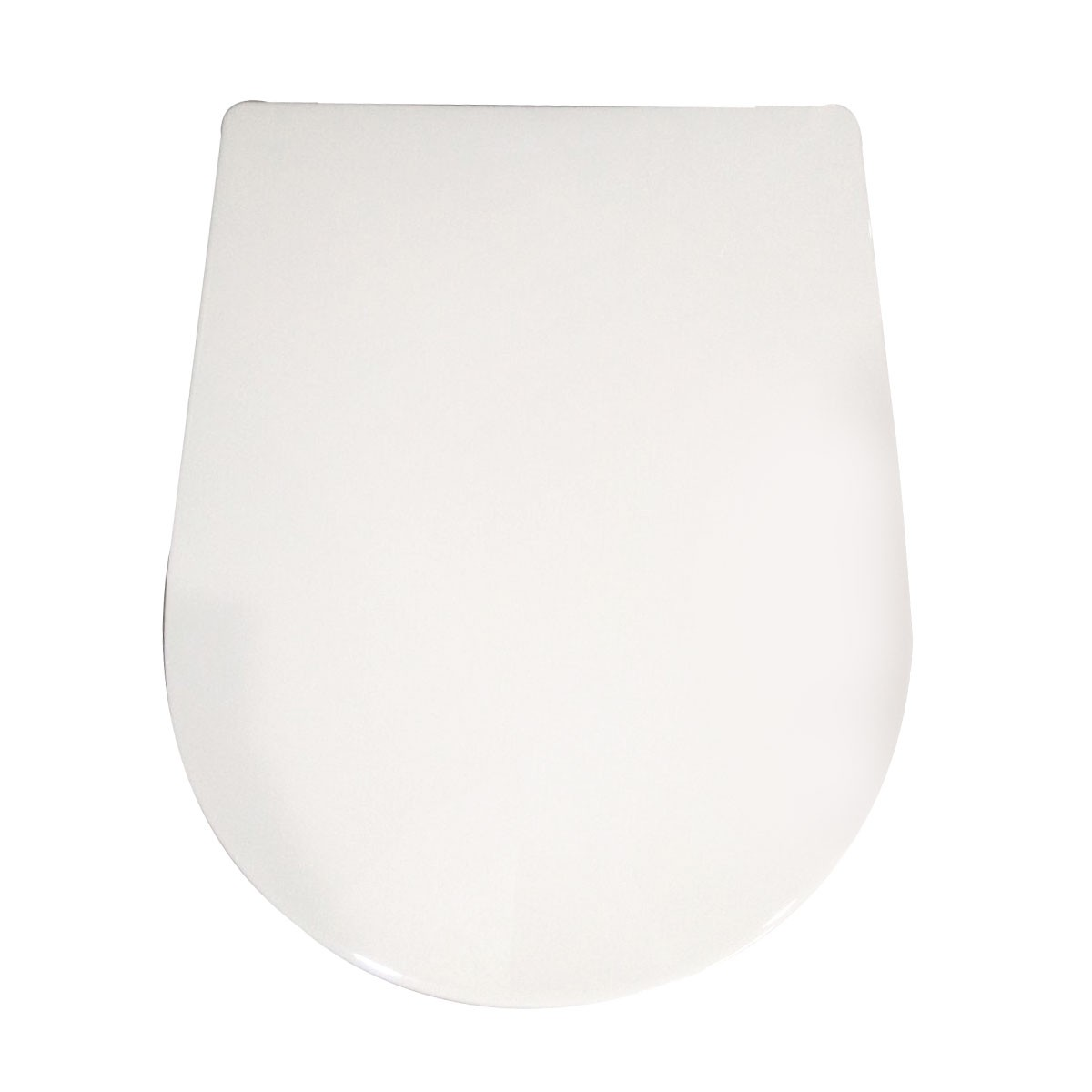 White Soft Close Toilet Seat with Cover (DK-CL-010)