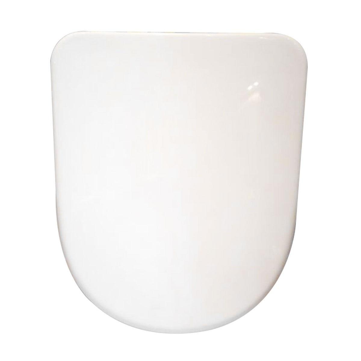 White Soft Close Toilet Seat with Cover (DK-CL-040)