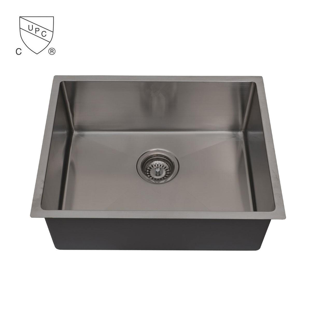 Stainless Steel Kitchen Sink, Single Bowl (DK-SC-AR2318-R10)