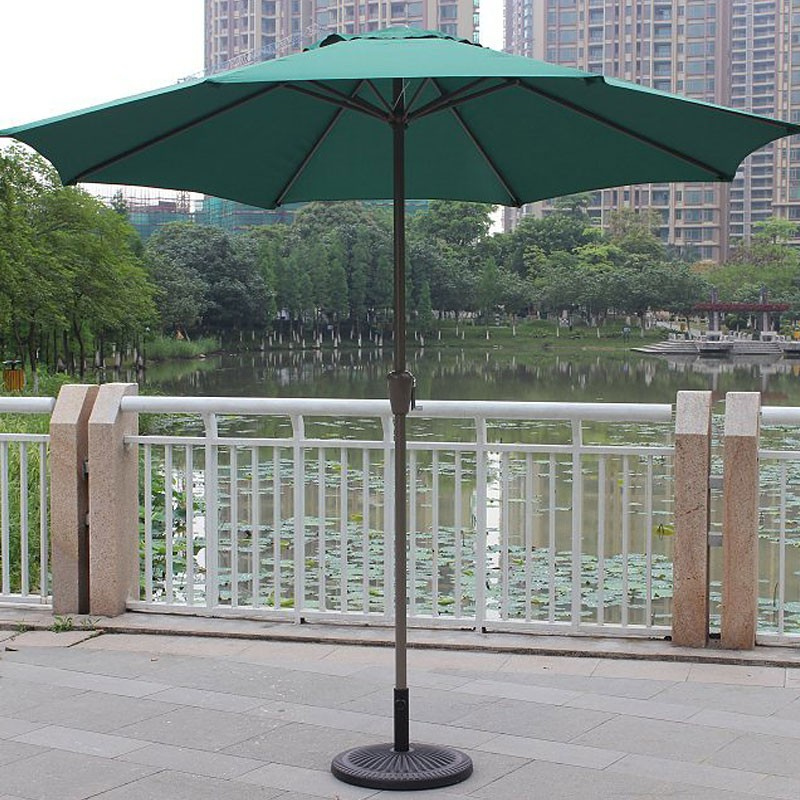8.9 ft. Outdoor Wind Resistant Patio Umbrella (902 IR/AL-2)