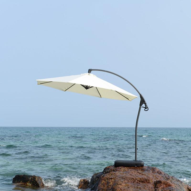 9.8 ft. Deluxe Polyester Offset Patio Umbrella (911AL-1)