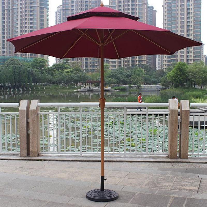 8.9 ft. Outdoor Wind Resistant Patio Umbrella (913IR-2)