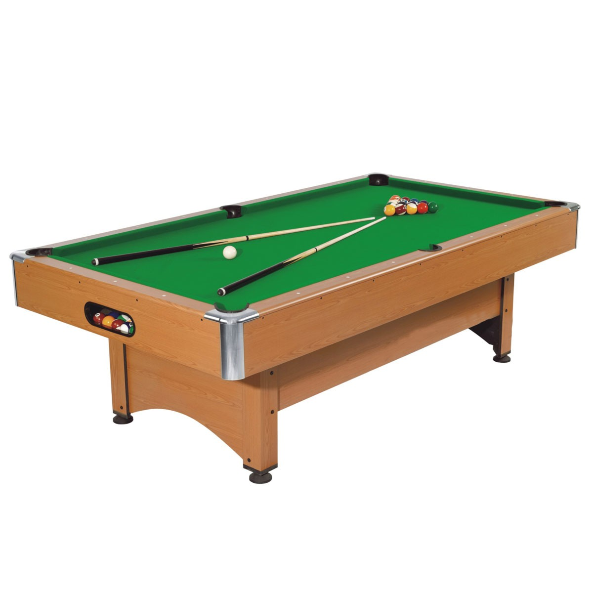 8-Foot Pool Table with Accessories (ZLB-P03)