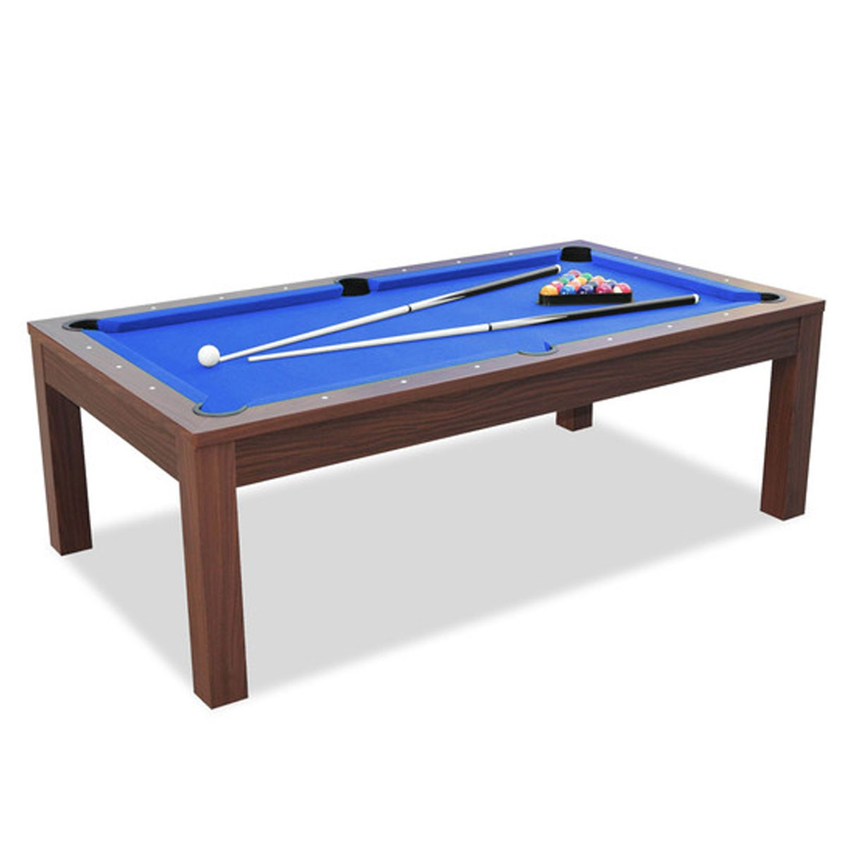 7  Foot Pool Table With Accessories (ZLB P32)