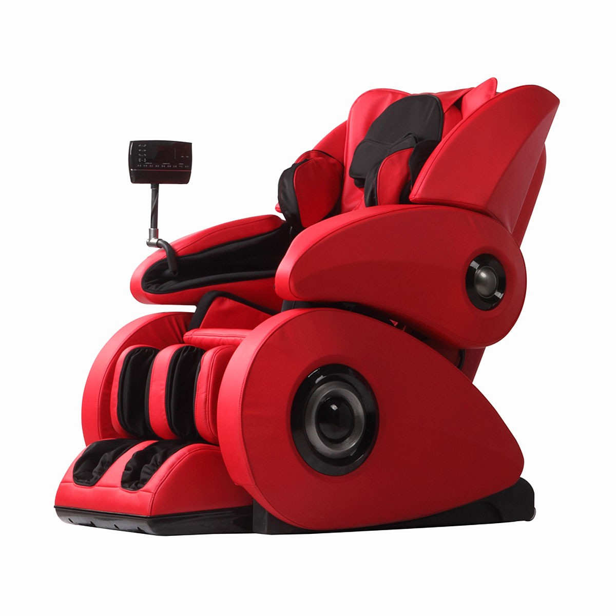 red massage chair