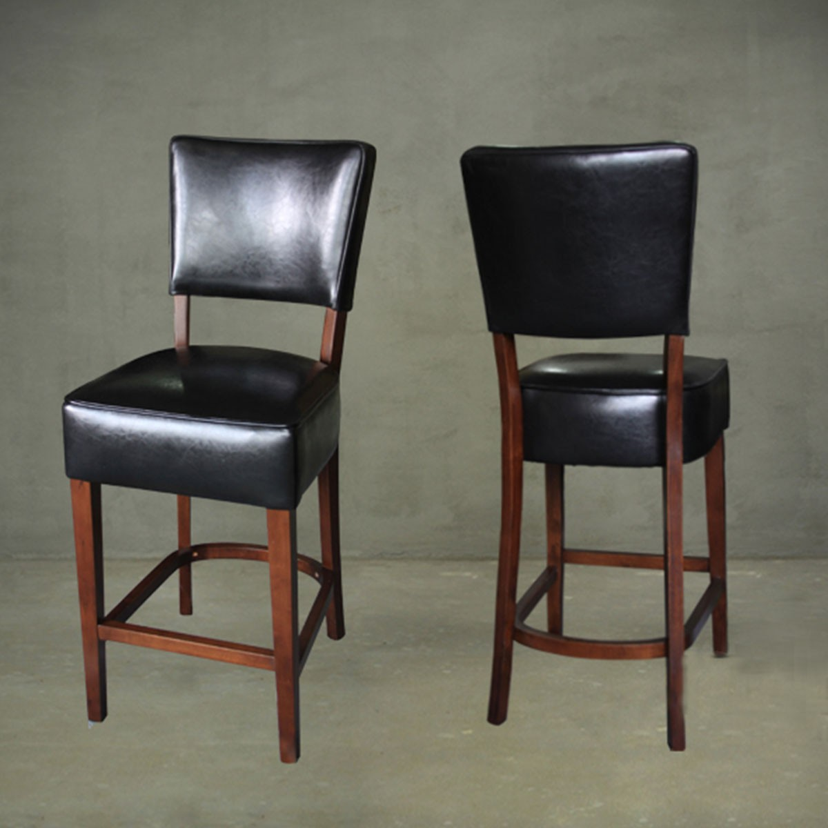 Upholstered Wooden Bar Stool Pjl609 Decoraport Usa