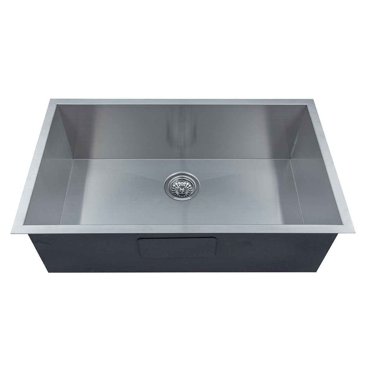 32 x 19 In. Stainless Steel Single Bowl Handmade Kitchen Sink ...