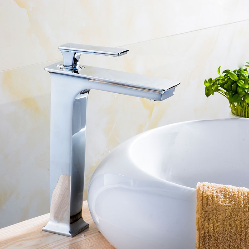 Basin&Sink Faucet - Brass with Chrome Finish (81H36-CHR-008-T)