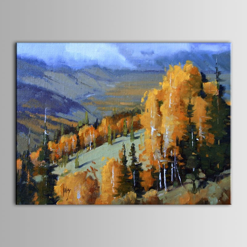 Printed Landscape Oil Painting (DK-PH-DH12)